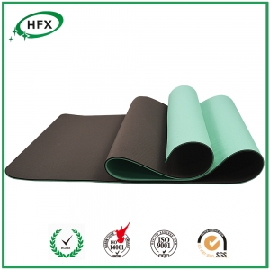 Eco-firendly Gymnastic / Exercise Mats 100% TPE 2017 Hot Selling
