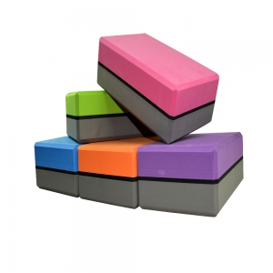 Non-slip Multi-color Yoga Block Print Bulk