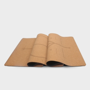 Eco-friendly Natural Rubber Cork Yoga Mats