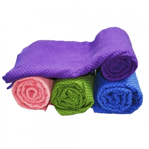 Non-slip Yoga Towel with Silicone Dots