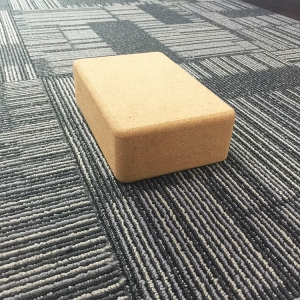 Natural Fitness Cork Yoga Block Eco Friendly