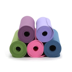 custom TPE yoga mats