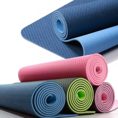 double layer TPE yoga mats