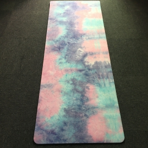 hot selling non-slip suede TPE yoga mats supplier