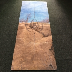 Fabric Rubber Yoga mat