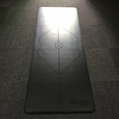 Black  PU Yoga ​Mats