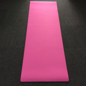 High Density Eco-friendly Custom Logo Double Layer TPE Mats Yoga