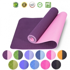 Double Color Yoga Mats
