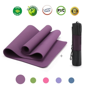 Wholesale Anti-tear Single Layer TPE Fitness Pad