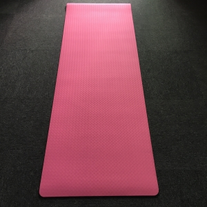 6mm Eco-Friendly Single Layer TPE Yoga Mats